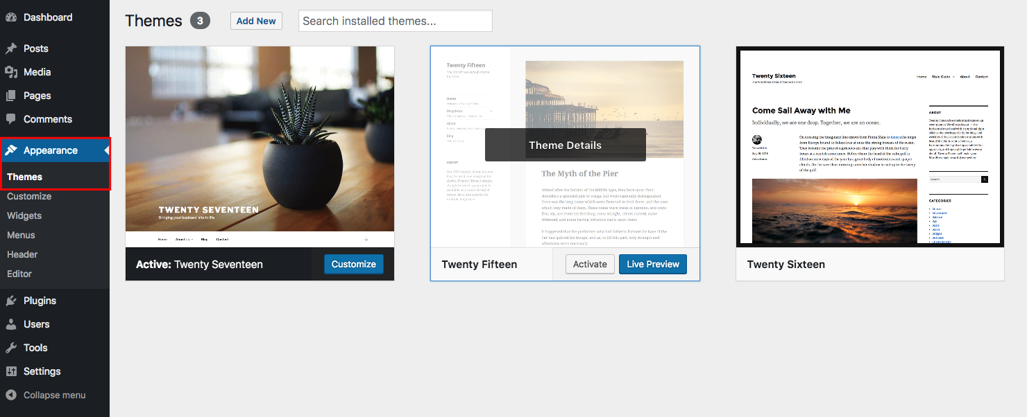delete-wordpress-themes