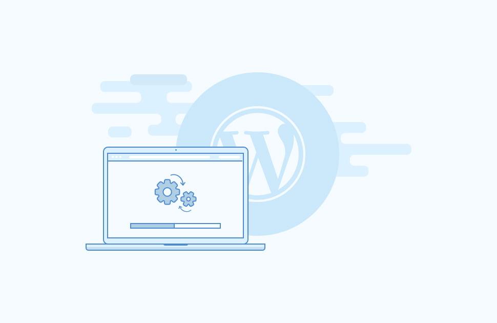 installing wordpress in 4 minutes