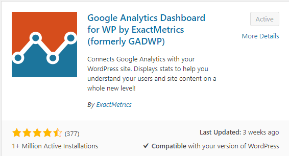 Google-Analytics-Dashboard-for-WordPress