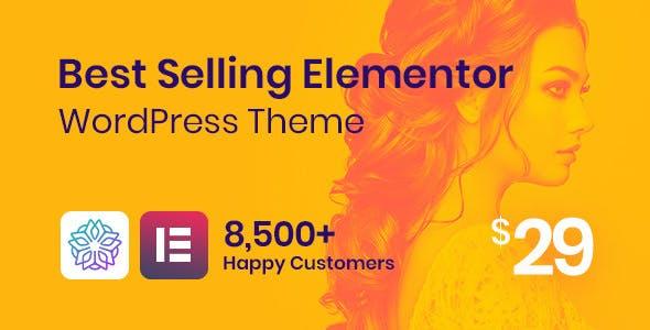 15+ Best WordPress Themes for Elementor 1