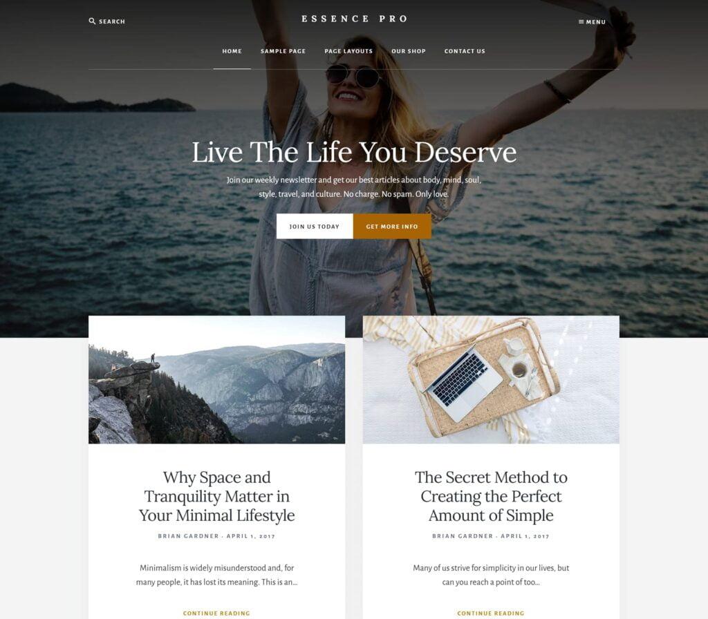 15+ Best WordPress Themes for Elementor 12